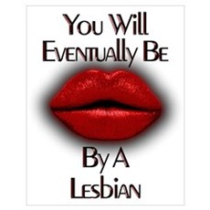 Be Kissed By Lesbian Poster