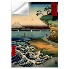 Japanese Ukiyo-e Mt. Fuji Wall Decal