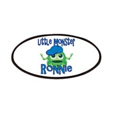 Little Monster Ronnie Patches