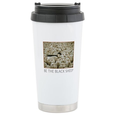 Be The Black Sheep Stainless Steel Travel Mug
