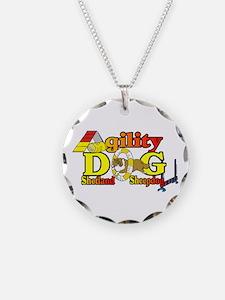 Agility Sheltie Necklace