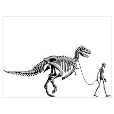 Dinosaur Walk Poster