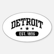 Detroit Est.1806 Decal