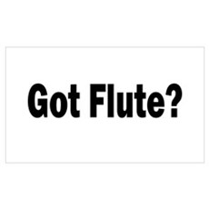 Got Flute? Poster