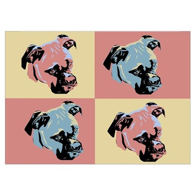 Boxer Pop Art Poster