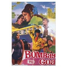 Bombay To Goa Bollywood Canvas Art