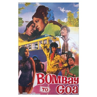 Bombay To Goa Bollywood Poster