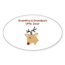 Grandma and Grandpa's Dear Decal
