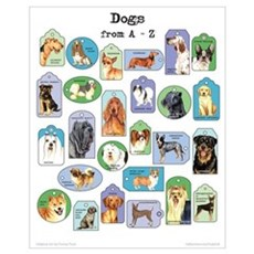 Dogs A-Z Poster