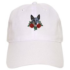 Blue Heeler Christmas Baseball Cap