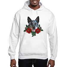 Blue Heeler Christmas Hoodie