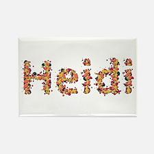 Heidi Fiesta Rectangle Magnet