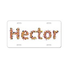 Hector Fiesta Aluminum License Plate