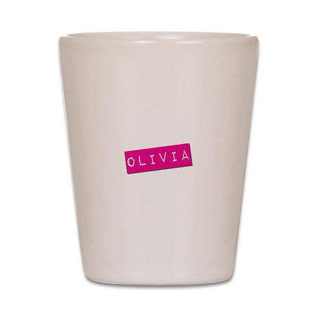 Olivia Punchtape Shot Glass