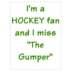 I miss Gump Worsley Poster