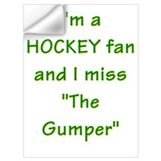 I miss Gump Worsley Wall Decal