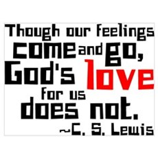 God's Love for Us Framed Print