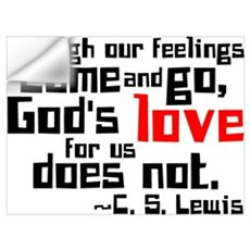 God's Love for Us Wall Decal