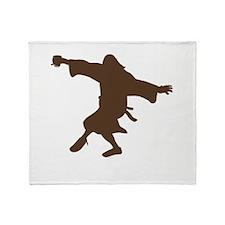 Dancing Dude Throw Blanket