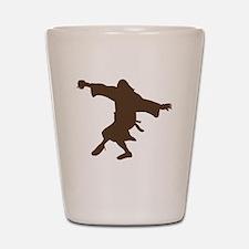 Dancing Dude Shot Glass