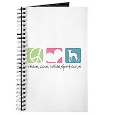 Peace, Love, Italian Greyhounds Journal