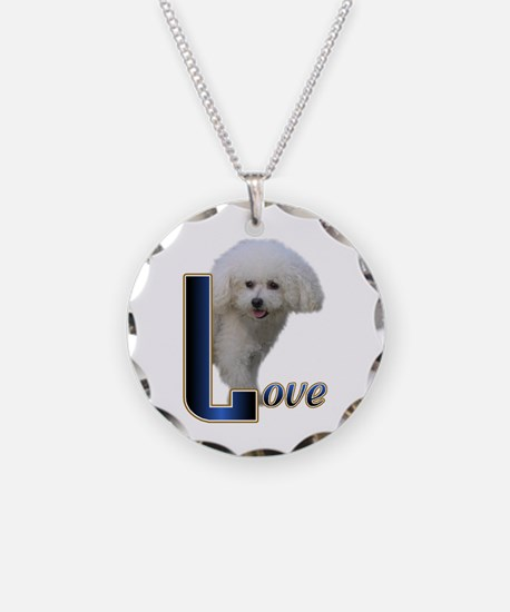 Bichon Frise Love Necklace