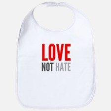 Love Not Hate Baby Bib