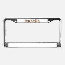 Izabella Fiesta License Plate Frame
