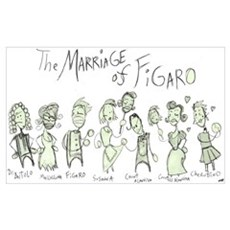 Marriage of Figaro: The Canvas Art