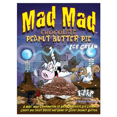 Mad Mad Chocolate Peanut Butter Pie Canvas Art