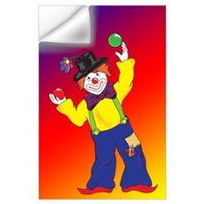 Clown -23x35 Wall Decal