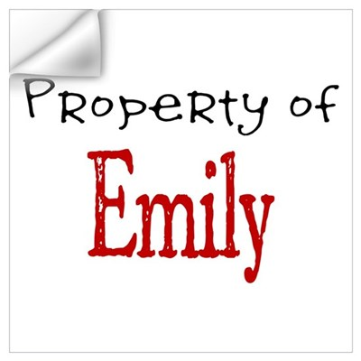 Emily Wall Decal