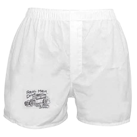 Real Men vintage Roth style retro Boxer Shorts