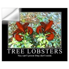 Tree Lobsters Don't Exist Wall Decal