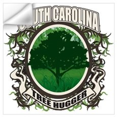 Tree Hugger South Carolina Wall Decal