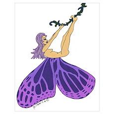 Swinging Fairy Poster