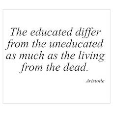 Aristotle quote 76 Poster