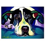 Great dane Framed Prints