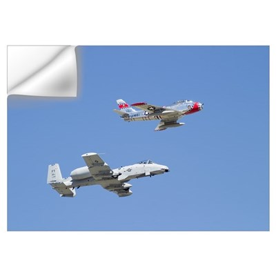 A10 F86 Wall Decal