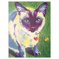 Cat #6 Poster