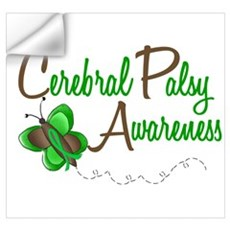 CP Awareness 1 Butterfly 2 Wall Decal