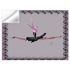 Ballerina in Grande Jete Wall Decal