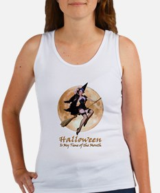 Halloween is My Time of the Month Women's Tank Top