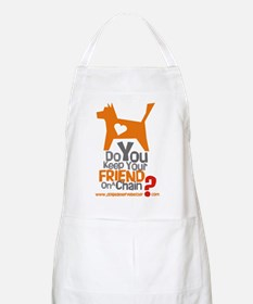 Keep Your Friend on a Chain? BBQ Apron