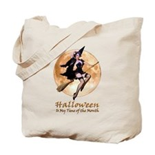 Halloween is My Time of the Month Tote Bag