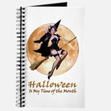 Halloween is My Time of the Month Journal