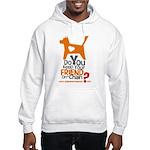 Keep Your Friend on a Chain? Hooded Sweatshirt