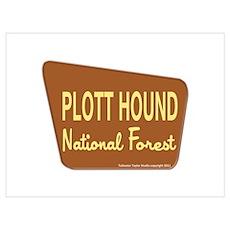 Plott Hound Poster