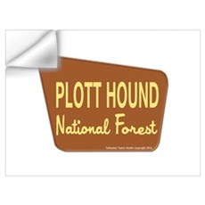 Plott Hound Wall Decal