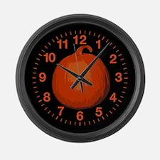 Pumpkin Large Wall Clock